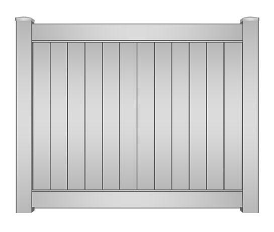 Broward Premium Vinyl Privacy Fence