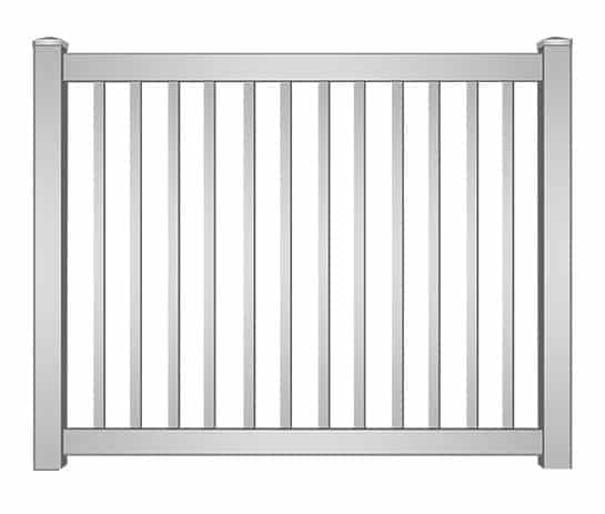 Hollywood Vinyl Picket Fence