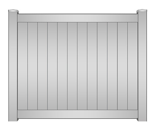 Vinyl Privacy Fence Panel South Florida