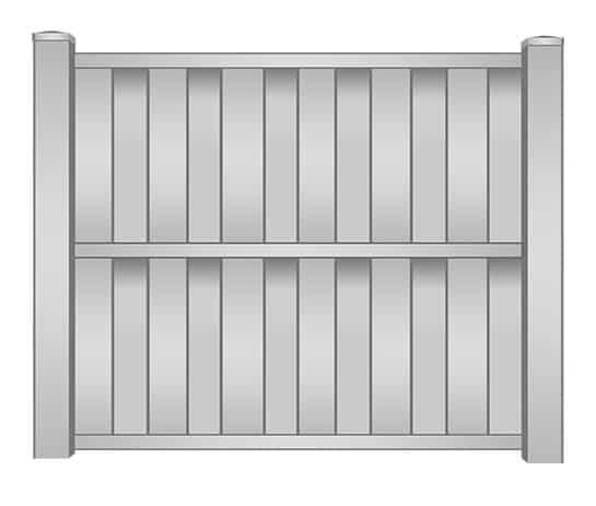 St Lucie Vinyl Shadowbox Fence